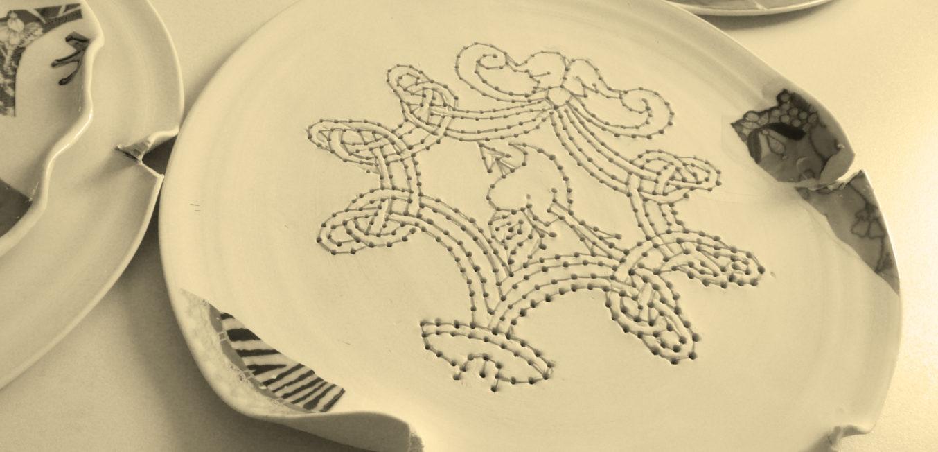 Abbiamo rotto (set of plates) 2014